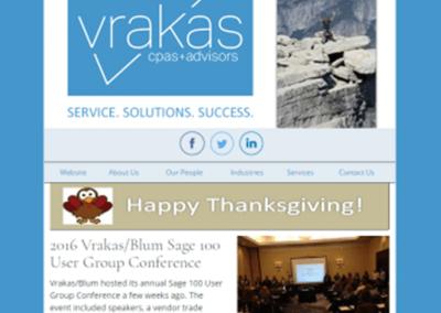 Vrakas CPAs Newsletter- November 23, 2016