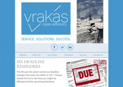 Vrakas CPAs Newsletter – March 1, 2017
