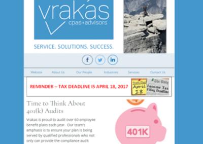 Vrakas CPAs Newsletter – April 12, 2017