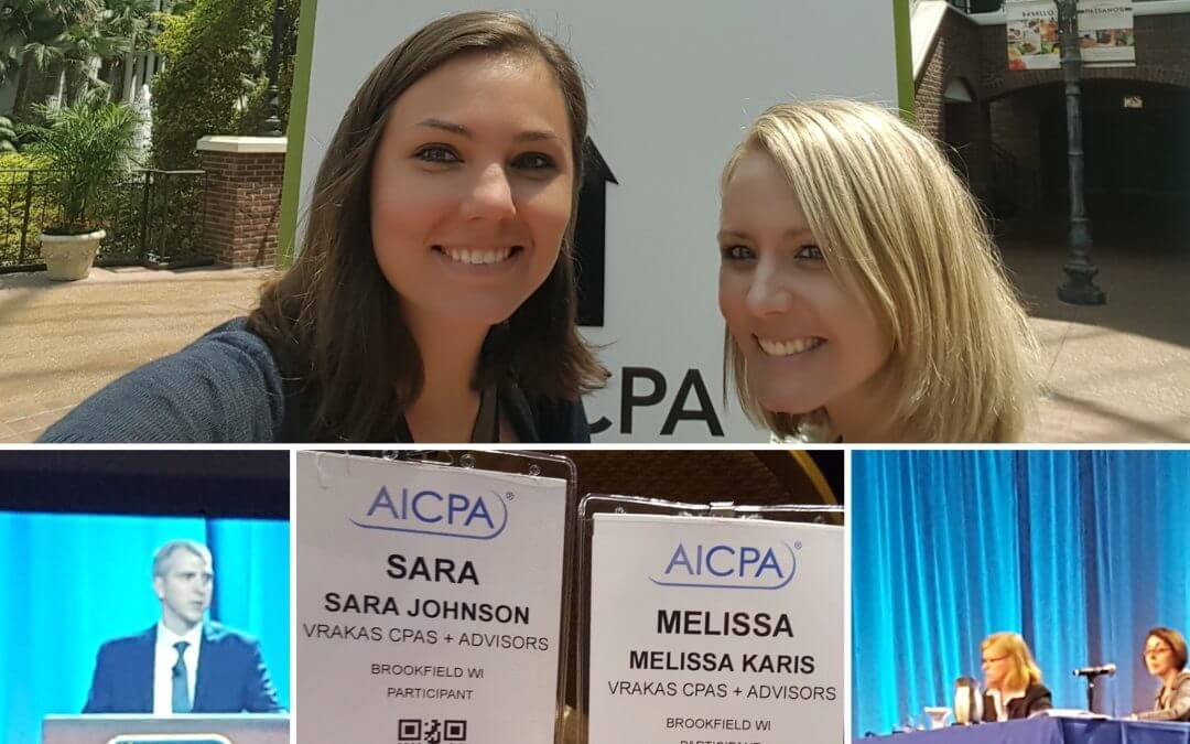 Vrakas Attended the AICPA Employee Benefits Conference