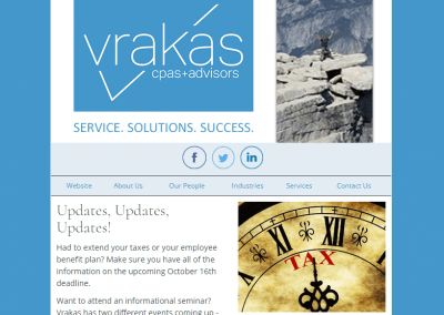 Vrakas CPAs Newsletter – October 11, 2017