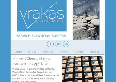 Vrakas CPAs Newsletter – November 8, 2017