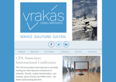 Vrakas CPAs Newsletter – October 25, 2017