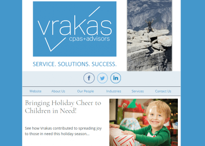 Vrakas CPAs Newsletter – December 20, 2017