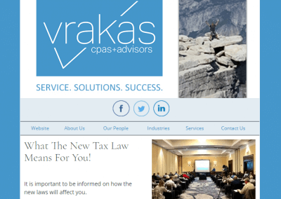 Vrakas CPAs Newsletter – February 14, 2018