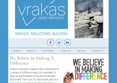 Vrakas CPAs Newsletter – June 6, 2018