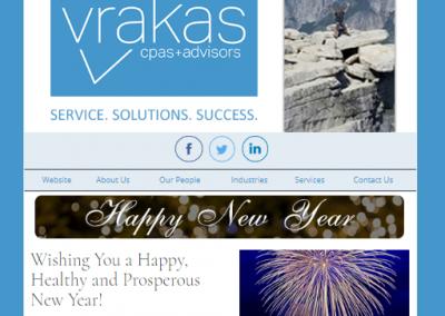 Vrakas Newsletter – January 1, 2020