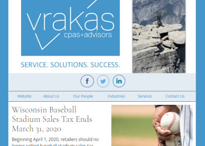 Vrakas CPAs Newsletter – March 11, 2020