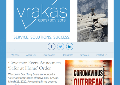 Vrakas CPAs Newsletter – March 25, 2020