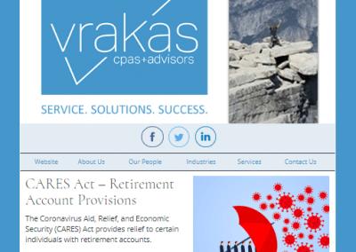 Vrakas CPAs Newsletter – April 8, 2020