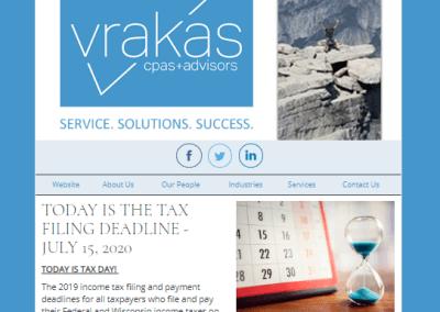 Vrakas CPAs Newsletter – July 15, 2020