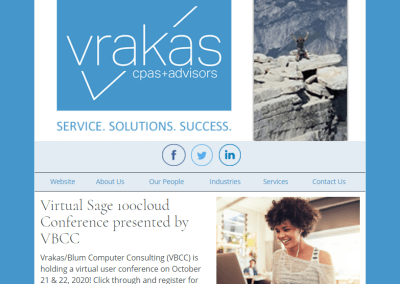 Vrakas CPAs Newsletter – October 7, 2020