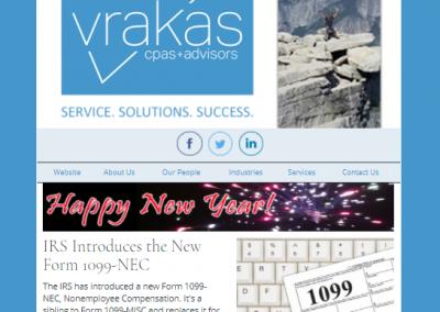 Vrakas CPAs Newsletter – December 30, 2020